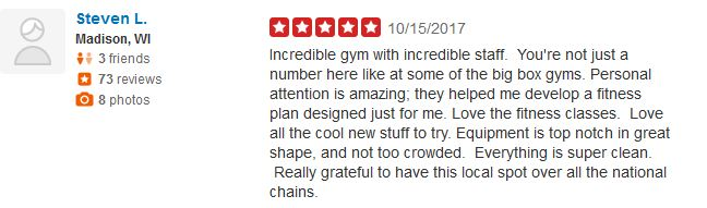 Yelp Review Afac